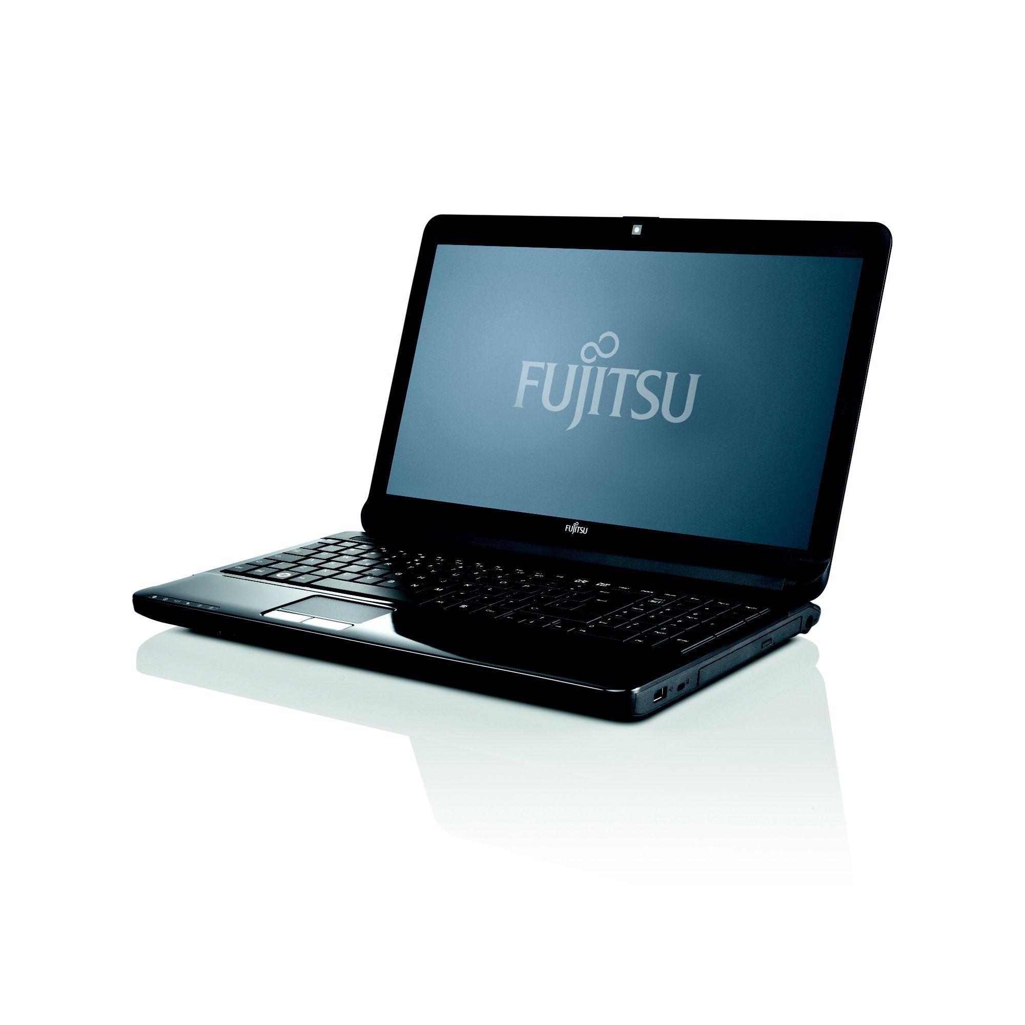 Fujitsu Lifebook 15.6 inch Notebook PC AH530 Pentium P6200 2.13GHz 2GB 320GB DVD+RW Windows 7 Home Premium 64-bit at Tesco Direct
