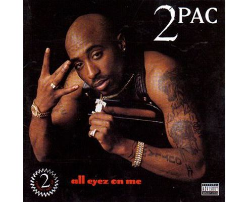 2 Pac All Eyes On Me Cd
