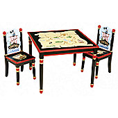 Guidecraft Pirate Table and Chair Set
