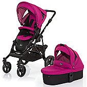 ABC Design Mamba 3 in 1 Pushchair & Carrycot (Black/Grape)