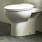Tavistock Rio Soft Close Toilet Seat in White