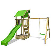 Fatmoose MagicMonkey XXL Climbing Frame With Green Slide