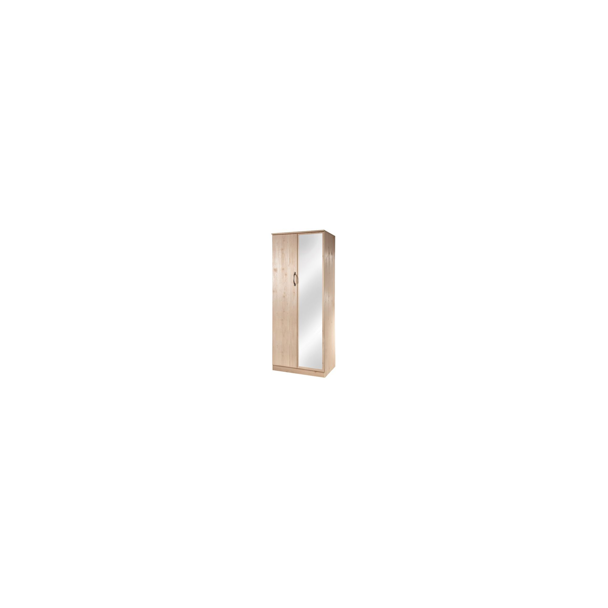 Welcome Furniture Florida Mirror Wardrobe - 197cm H at Tesco Direct