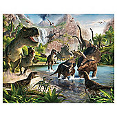 Dinosaur Land Wallpaper Mural 8ft x 10ft