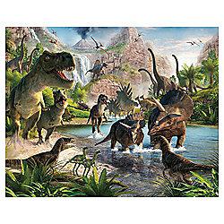 Dinosaur Land Wallpaper Mural 8ft x 10ft