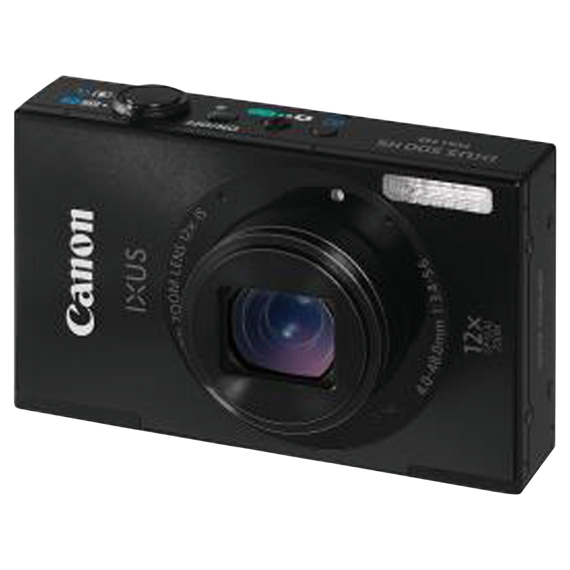 Canon Ixus 500 HS Black Digital Camera