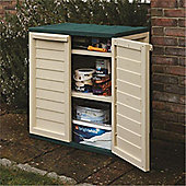 "2'5"" x 1'7"" Plastic Utility Cabinet (0.75m x 0.50m)"