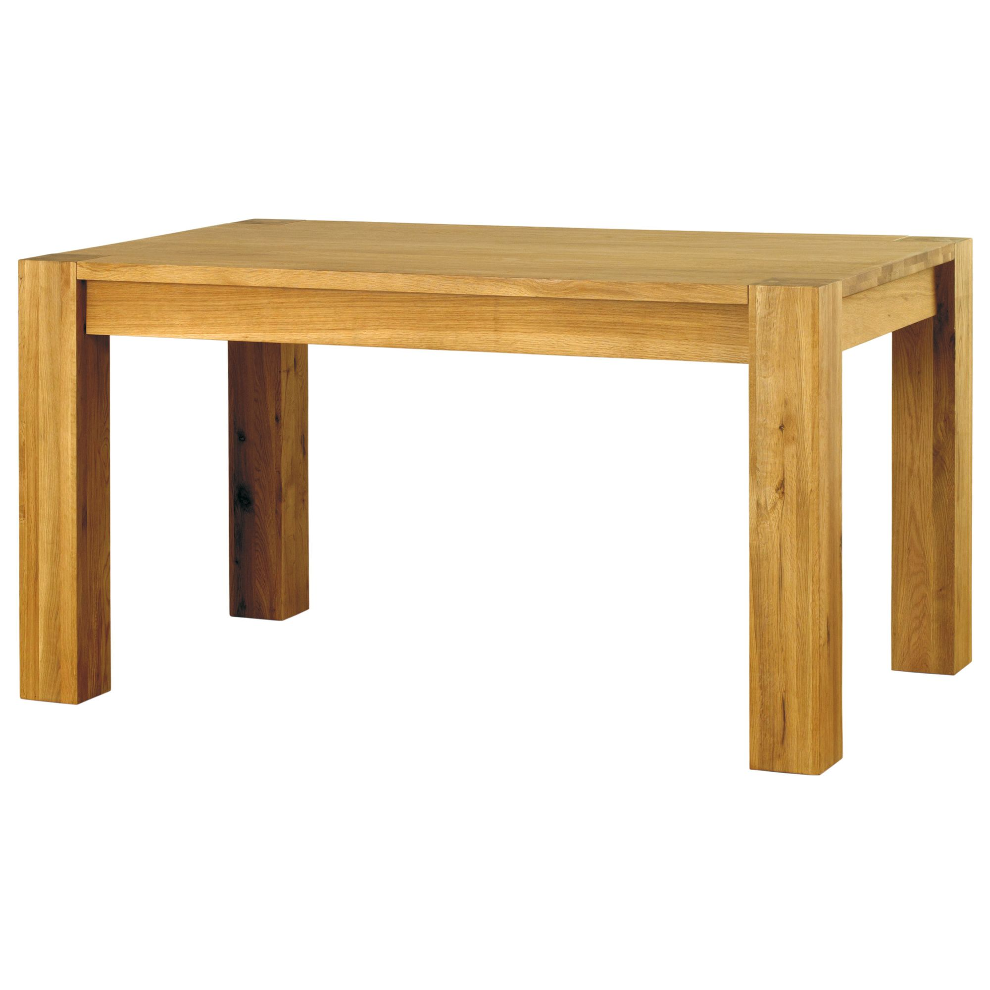 Baumhaus Aston Solid Oak Dining Table (Seats 4-6)