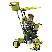 Smart Trike Spirit Touch Steering 4-in-1 Trike, Green