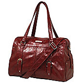 Vanchi Hendrix Wedge Changing Bag Strawberry Fields