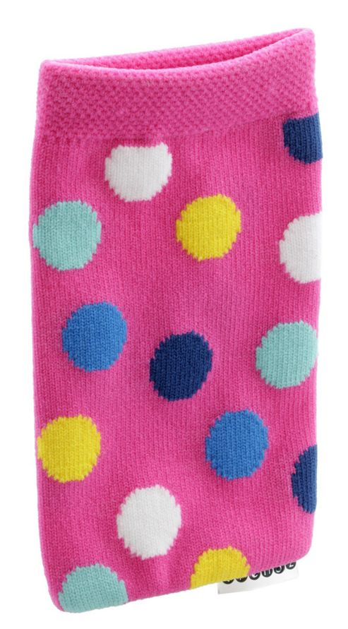 Trendz Fabric Sock for Universal Smartphone Devices - Multi-Colour Dots