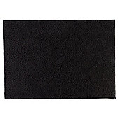 Tesco Basics Towel, - Black