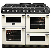 Hotpoint Gas Cooker with Gas Grill and Gas Hob, CH10755GF S - Cream