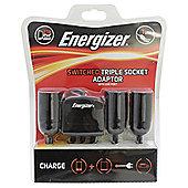 Energizer 12V Socket & Single USB (Switched) Adapter