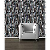 Muriva Gotham Wallpaper
