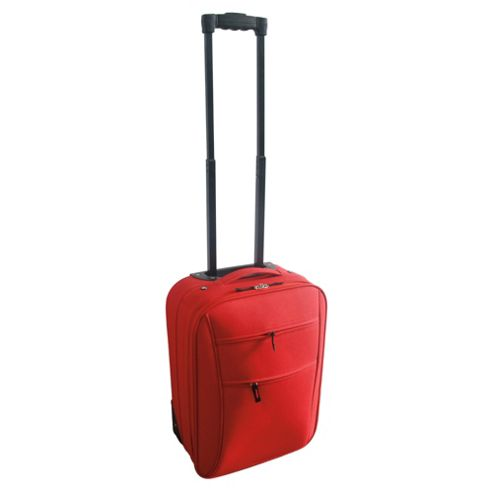 Tesco 2-Wheel Suitcase, Red Small