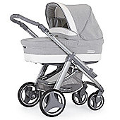 Bebecar Ip-Op Evolution Magic Silver Combi Pram (Silver Shimmer)