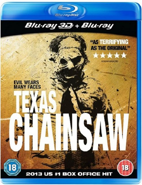 Texas Chainsaw Massacre 3D Blu Ray