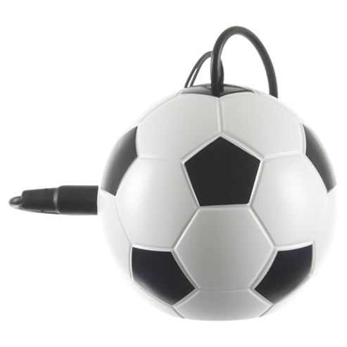 KitSound Mini Buddy Footbal Speaker Compatible with any 3.5 mm Jack device