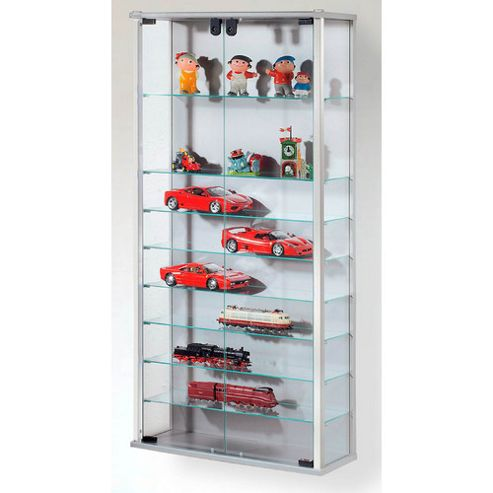 VCM Vindola Cabinet Storage - Silver