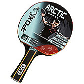 Fox Arctic 5 Star Table Tennis Bat With Flared Handle - ITTF Approved