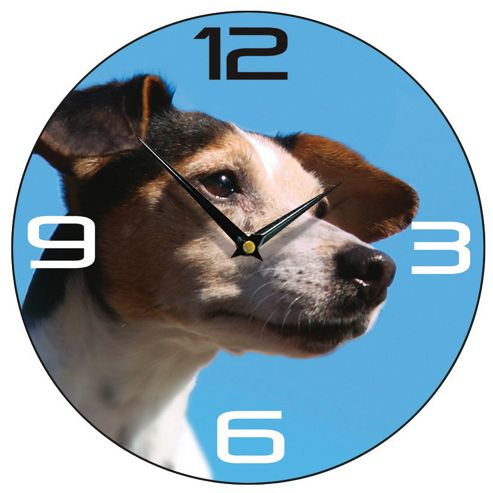 Smith & Taylor Jack Russell Dog Wall Clock