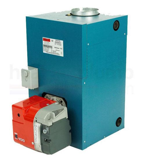 Warmflow B-SERIES Bluebird Boilerhouse Standard Efficiency Oil Boiler 26-33kW