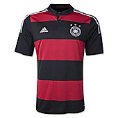 2014-15 Germany Away World Cup Football Shirt - Red