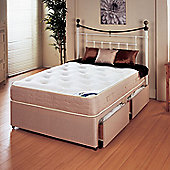 Repose New Princess 1000 Platform Divan Bed - Small Double/Double / 4 Drawer