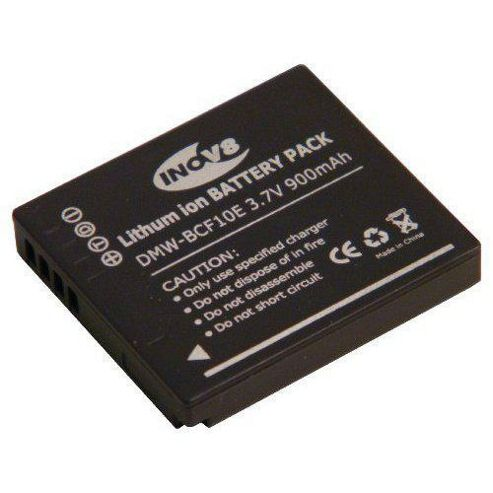 INOV8 Panasonic DMW-BCF10e Equivalent Digital Camera Battery