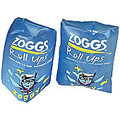 Zoggs Zoggy Roll-Up Armbands - Blue