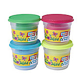 Soft Stuff 4 x 150g Doh Tubs - Glitter and Pearl Colours