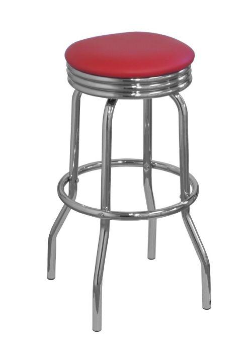 lamboro retro bar stool red. Black Bedroom Furniture Sets. Home Design Ideas