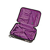 Linea Titanium 2-Wheel Suitcase, Dark Grey Small