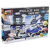 Block Tech Police HQ Crime Unit