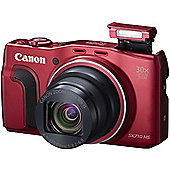 Canon PowerShot SX710 HS 20.3 MP Compact Digital Camera Red