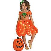 Twinkle Pumpkin Princess - Child Costume 3-4 years