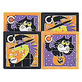 Halloween Party Slide Puzzles (4pk)