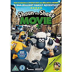Shaun The Sheep The Movie: Tesco 2 Disc Exclusive DVD