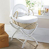 Izziwotnot Cream Gift Maize Moses Basket