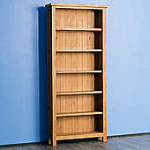 Surrey Oak Large Bookcase - Rustic Oak