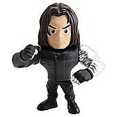 """Metals Die Cast Marvel Civil War: 4"""" Winter Soldier"""