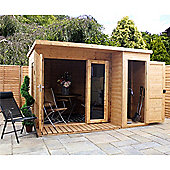 10ft x 8ft Contempory Gardenroom Large Combi
