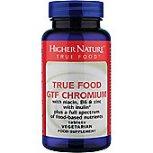 Higher Nature True Food Gtf Chromium 90 Veg Tablets