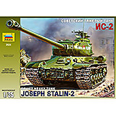Soviet Heavy Tank Joseph Stalin-2 - 1:35 Scale - Model Kit - 3524 - Zvezda