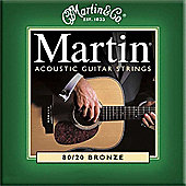 Martin MG170 Acoustic Guitar Strings Extra Light Gauge