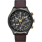 Timex Intelligent Quartz Gents Fly-Back Chronograph Watch T2N931