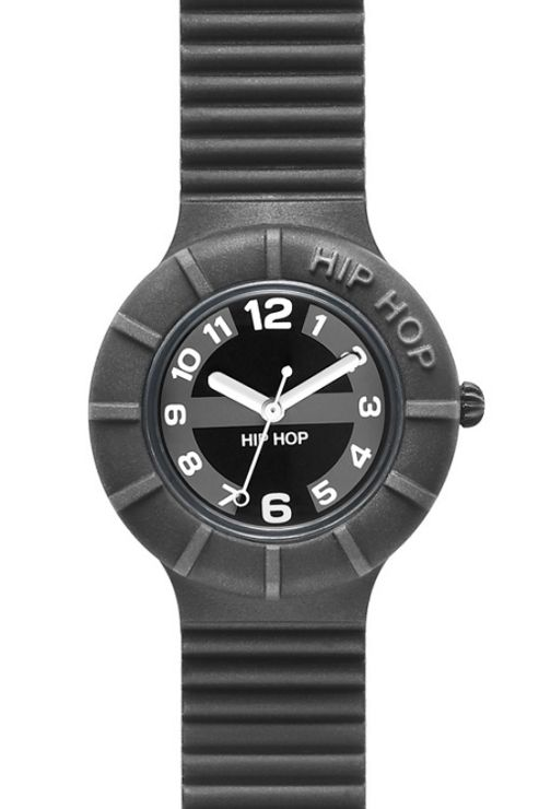 Hip Hop Unisex Numbers Black Tie Strap Watch HWU0128
