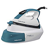 Morphy Richards ZZ33300X Intellitemp Iron - White & Blue