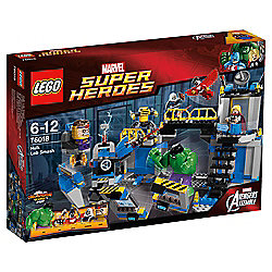 LEGO Marvel Super Heroes Avengers: Hulk Lab Smash 76018